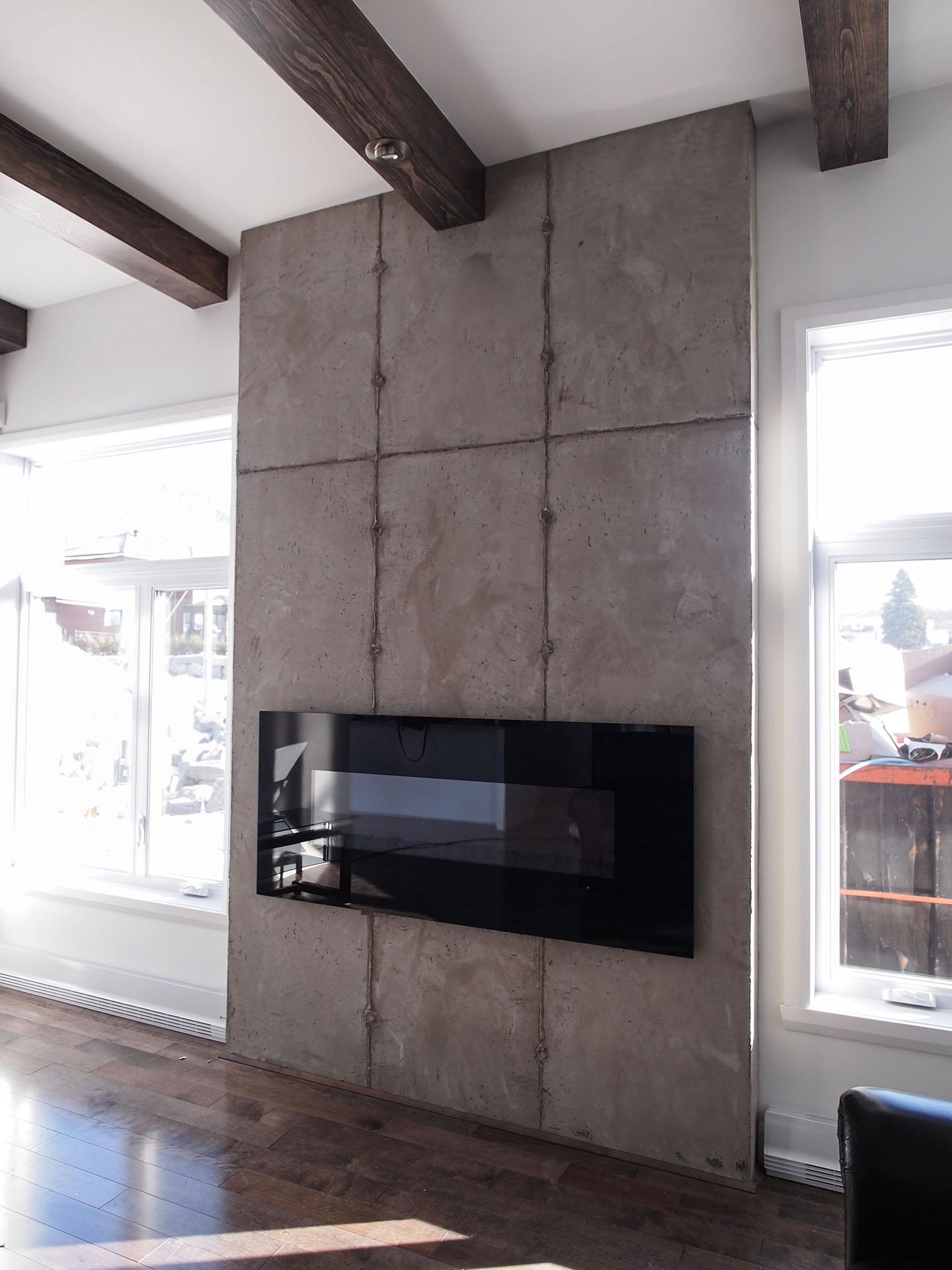 la construction d un bungalow contemporain guilmain design. Black Bedroom Furniture Sets. Home Design Ideas