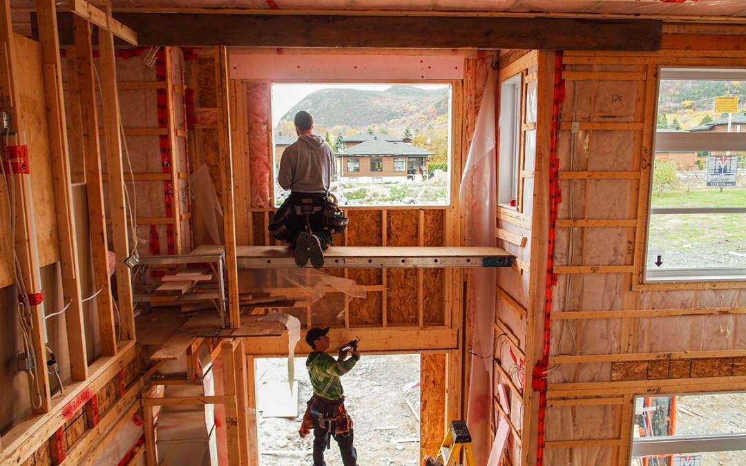 La construction d'un cottage