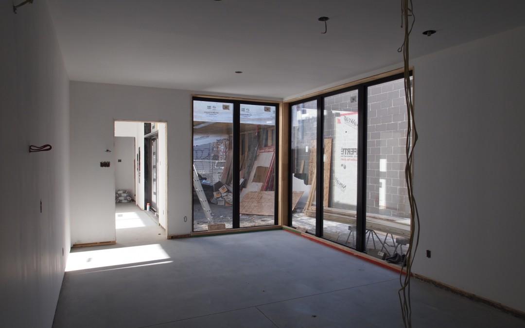 Construction d'un cottage dans le Mile-end