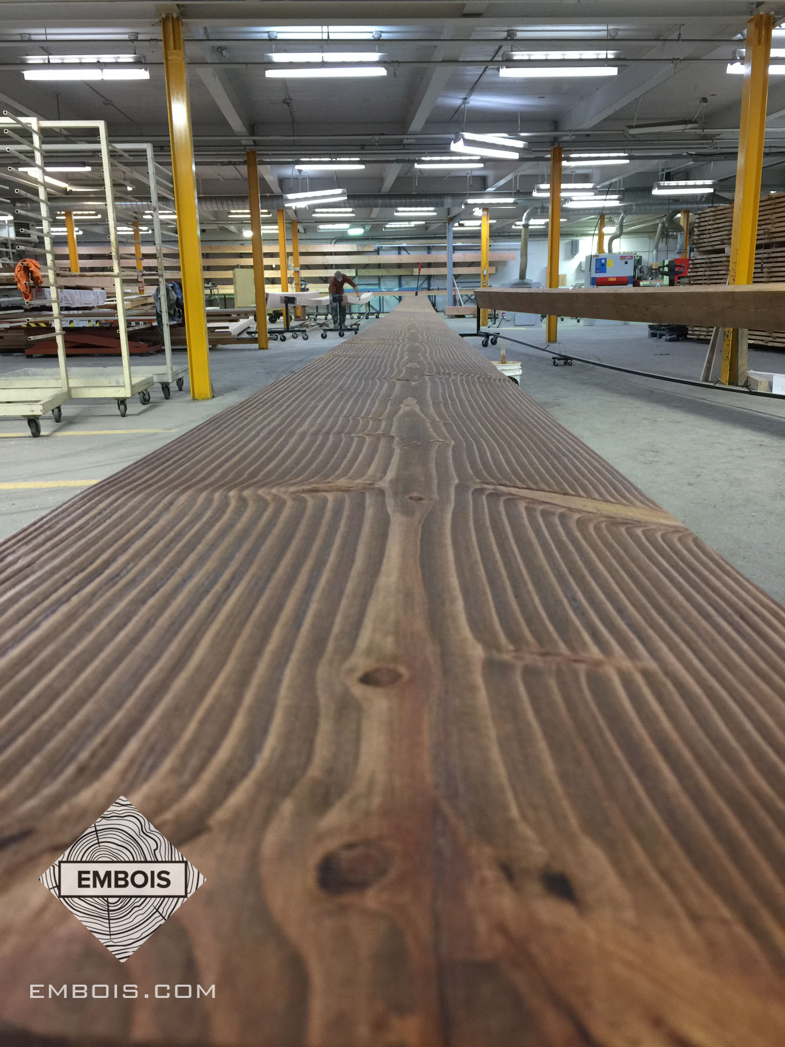 Chalet structure de bois
