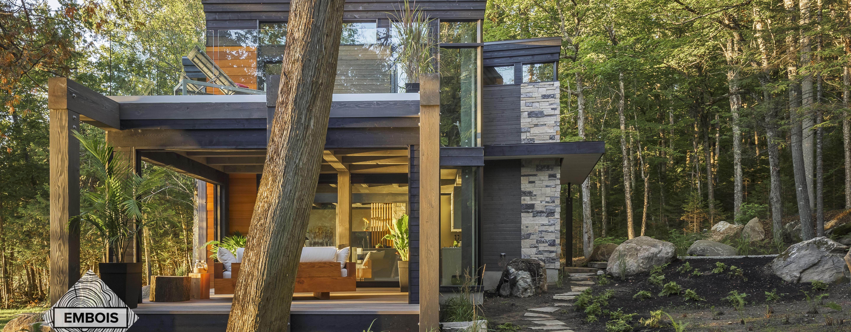 maison en structure de bois